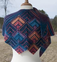 Ravelry: Painting the Midnight Sky pattern by Jill Bigelow-Suttell and Jane Bigelow