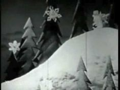 Suzy Snowflake (1951) Stop Motion Animation (With Original Song)  I remember Arthur Godfrey singing this song when I was a very little girl and I loved it and still do.