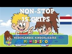 Nederlandse Kinderliedjes   NON-STOP  15 LIEDJES - 38 MINUTEN   Minidisco - YouTube