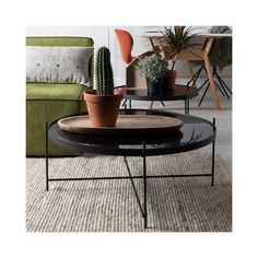 CUPID+LIVING+ROOM+SIDE+TABLE+in+Black+Finish
