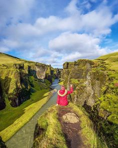 Hotels-live.com/pages/comparateur-hotels.html - Fjaðrárgljúfur is a canyon that was created during the last ice age on Iceland's ring road in south Iceland. - Dame Traveler @bemytravelmuse #dametraveler by dametraveler https://instagram.com/p/9RCFzbPwYI/
