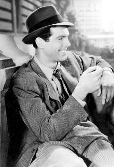 Fred MacMurray in 'The Gilded Lily', 1935.
