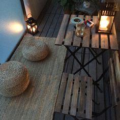 Architecture – Enjoy the Great Outdoors! House With Balcony, Small Balcony Decor, Balcony Design, Interior Balcony, Interior Design Living Room, Living Room Decor, Interior Decorating, Ideas Hogar, Aesthetic Room Decor