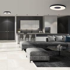 Plafón de techo LED Dimable Coin (80W)