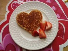 From a heart-shaped pancake mold I got at Harry and David. 2008
