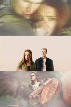 The Spy The Soldier. I ship them soo hard. My OTP. Has anyone else noticed how even in the Avengers he protects her first with his shield? And in the middle photo, when everyone's mourning Fury, he's looking at her because he's worried about how she's going to take it, since she only cares for three people, Fury, Clint, and Steve. However, he doesn't know that she really cares about him. He learns later in the movie that she does.