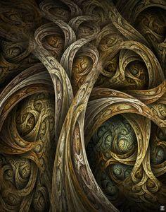 Yggdrasil  by `ClaireJones  Digital Art / Fractal Art