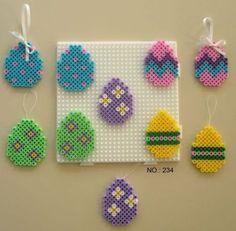 Easter Eggs - Perler Beads