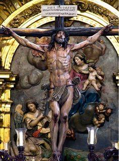 "cvbarroso: ""Cristo de la Séptima Palabra (Catedral de Zaragoza), Juan Manuel Miñarro López """