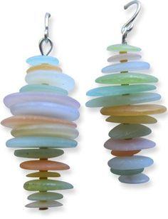 Imitation du verre: les trucs et astuces glanÈs pour de superbes bijoux en argile polymËre transparente
