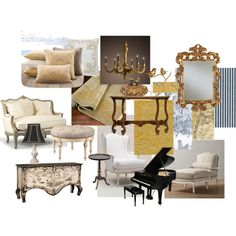 Country French Living Room By Katrina Wride Van Wagenen On Polyvore