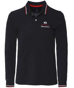 La Martina Men/'s Regular Fit Long Sleeve Arnulfo Polo Shirt