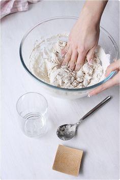 Faire son pain maison sans machine à pain - chefNini Best Bread Recipe, Bread Recipes, 20 Min, Coconut Flakes, Bakery, Spices, Pains, Genre, Cooking