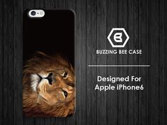 iPhone 6 Case black lion king iPhone 6 plus Case by buzzingbeecase