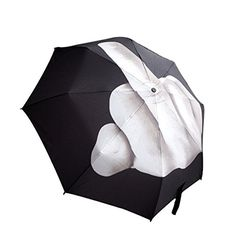 Windproof Travel Umbrella with Automatic Open Close UV Protection Middle Finger UmbrellaPlain ** Continue to the product at the image link. (This is an affiliate link) #TravelUmbrellas