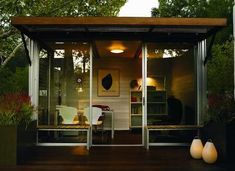 8 tiny backyard buildings for work or play - Prefab Office Shed
