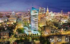 Nowy wieżowiec na Woli - Warszawa