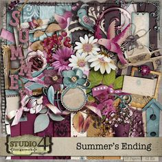 Summers Ending digital kit by Studio 4 Designworks