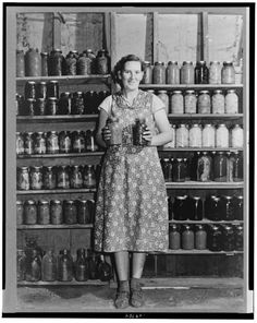 "After the harvest, you didn't splurge:  you ""got to canning"".  Depression-era parents seemed to *love* their canning, and they were proud of it when it was done!"