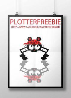 plotter file free plotter freebie plotter datei kostenlos spider spinne