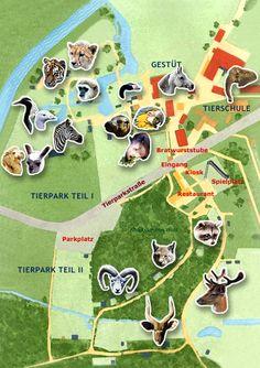 Dierenpark in Strohen, 85 km van Landal Dwergter Sand