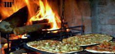 Pizzas a la parrilla cool!