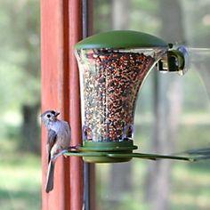 Garden Song® Dine Around Window Bird Feeder