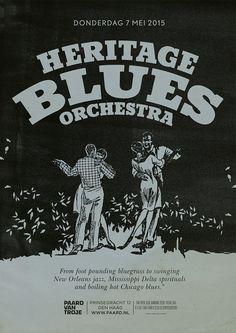 Heritage Blues Orchestra @ Paard van Troje 07-05-2015