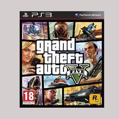 GTA5, PS3 ja XBOX360, 54,95 €, Konsolinet, 5. krs.