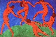 """A dança"", Henri Matisse, 260 X 390cm, oleo sem tela, 1910. Fauvismo"