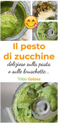 Il #pesto di #zucchine : una delizia leggera e fresca per un buon piatto di pasta dai sapori estivi.   #tribugolosa #gourmettribe #golosiditalia #cucina #cucinaitaliana #cucinare #italianrecipes #food #italianfood #foodstyling #yummy #foodlover #ricette #recipe #homemade #delicious #ricettefacili Healthy Pastas, Healthy Recipes, Sicilian Recipes, Pesto Pasta, Gnocchi, Food Humor, Everyday Food, Creative Food, I Love Food