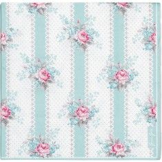 Greengate Papirsservietter - Holly Mint 35DKK