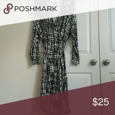 Wrap Dress A must have essential in your closet a 'wrap dress' and it's black & white. ava & viv Dresses Long Sleeve