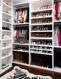 Marvelous Brighton Keller New Home Closet Reveal Shoe Organization