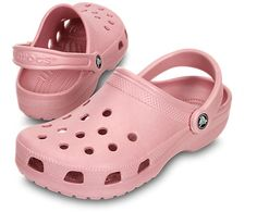 These are the clogs that started it all. Check out our classic clog for children, in over a dozen colors for light and comfortable children's shoes. Pink Crocs, Crocs Shoes, Pink Nike Shoes, Pink Nikes, Clothing Staples, Crocs Classic, Elegant Dresses For Women, Sneaker Heels, Sneakers