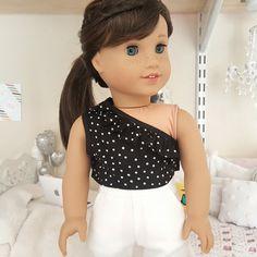 18-Zoll-Puppe Schwarz Rüschen Spitze von SewCuteForever auf Etsy