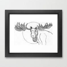 Tal vez no estamos solos Framed Art Print by Brave_Corona - $32.00