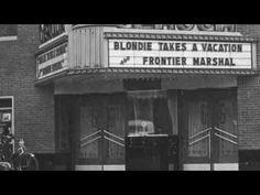 Geauga Theater, Chardon Ohio, 1939