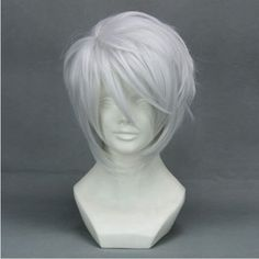 "12.6"" Layered Silver White Cosplay Wig -- Hiiro no Kakera Fox Town Yuichi by Allnicecos. $24.88. Adjustable net-cap fits most head size. Length: 12.6"". Use it year round, whether for costume, fashion, or just for fun. Material:100% High-quality Synthetic fiber anti High-temperature. Please note: This item's color may vary due to inherent manufacturing variations or your computer monitor's color settings. The item you receive will be identical or substantially similar to the item ..."