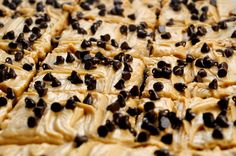 Seeking Sweetness in Everyday Life - CakeSpy - Go Nuts: Peanut Butter Blondies with Peanut Butter Frosting Recipe