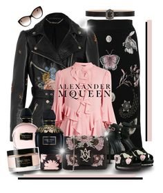 """""""Alexander McQueen!!!"""" by gianna-pellegrini ❤ liked on Polyvore featuring Alexander McQueen and Trilogy"""