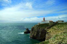 Costa Vincentina National Park, Cabo de Sao Vicente, Cape St. Vincent, Algarve, Portugal