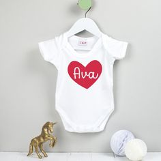 I get my good looks from my auntie funny cute non personalised valentines day love heart personalised babygrow negle Images