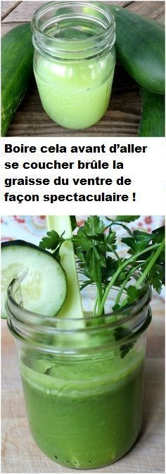 See How to Kill Tummy Fat With A Simple Bedtime Drink. 1 cucumber, a handful of parsley, grated ginger, ½ lemon, cup water. burn fat drink This 1 Simple Bedtime Drink Kills [Tummy Fat] While You Sleep Bebidas Detox, Get Healthy, Healthy Tips, Healthy Recipes, Diet Recipes, Healthy Detox, Vegan Detox, Detox Foods, Cleanse Recipes