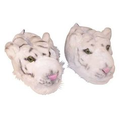 Ren if only it had blue eyes.... White Tiger Slippers