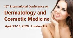 #ConferenceSeries LLC Ltd organizes #DermatologyConference is one of among them and it's our honor to invite all the researchers, doctors, and professionals on behalf of organizing committee members to be the part of the prestigious 15th International #Conference on #Dermatology and #Cosmetic #Medicine schedule on April 13-14, 2020 in #London, #UK.