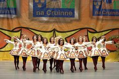Claddagh.... my daughter's dance school...at Worlds