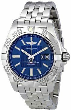 Breitling Men's A49350L2/C806SS Galactic 41 Blue Dial Watch Breitling,http://www.amazon.com/dp/B007HBM3H8/ref=cm_sw_r_pi_dp_mRdktb0W7GV6APWZ