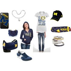 Outfit -- University of Michigan