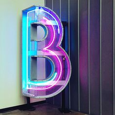 Neon typography - I'd like a C and an A though...